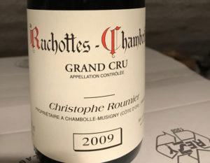 Christophe Roumier: Ruchottes-Chambertin