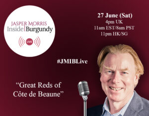 JMIB Live: Great Reds of Côte de Beaune