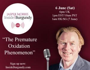 JMIB Live: The Premature Oxidation Phenomenon