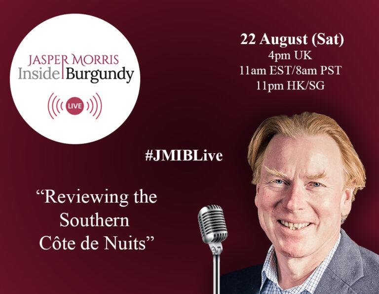 JMIB Live: Reviewing the Southern Côte de Nuits