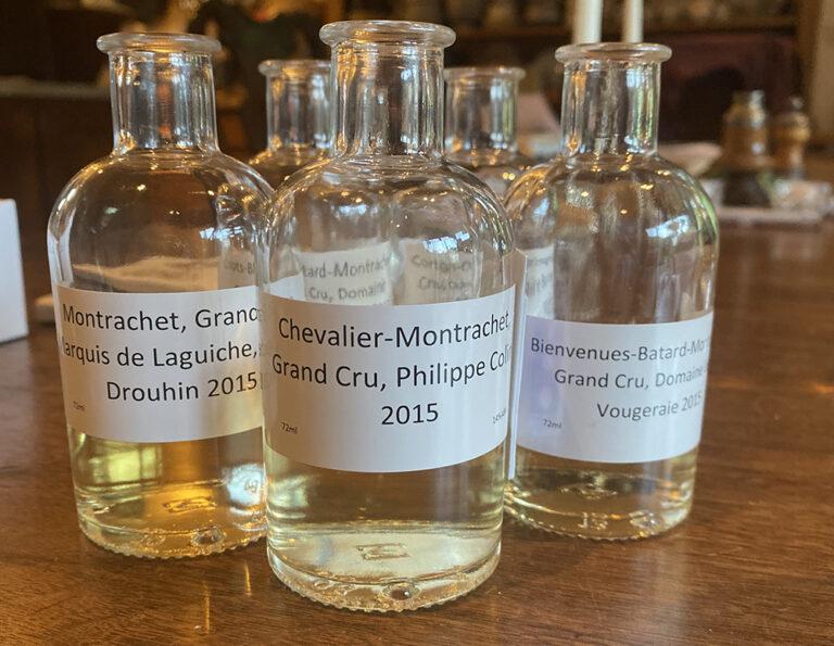 Jasper on Zoom: Top White Burgundy – Montrachet & friends