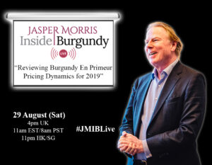 JMIB Live: Reviewing Burgundy En Primeur Pricing Dynamics for 2019