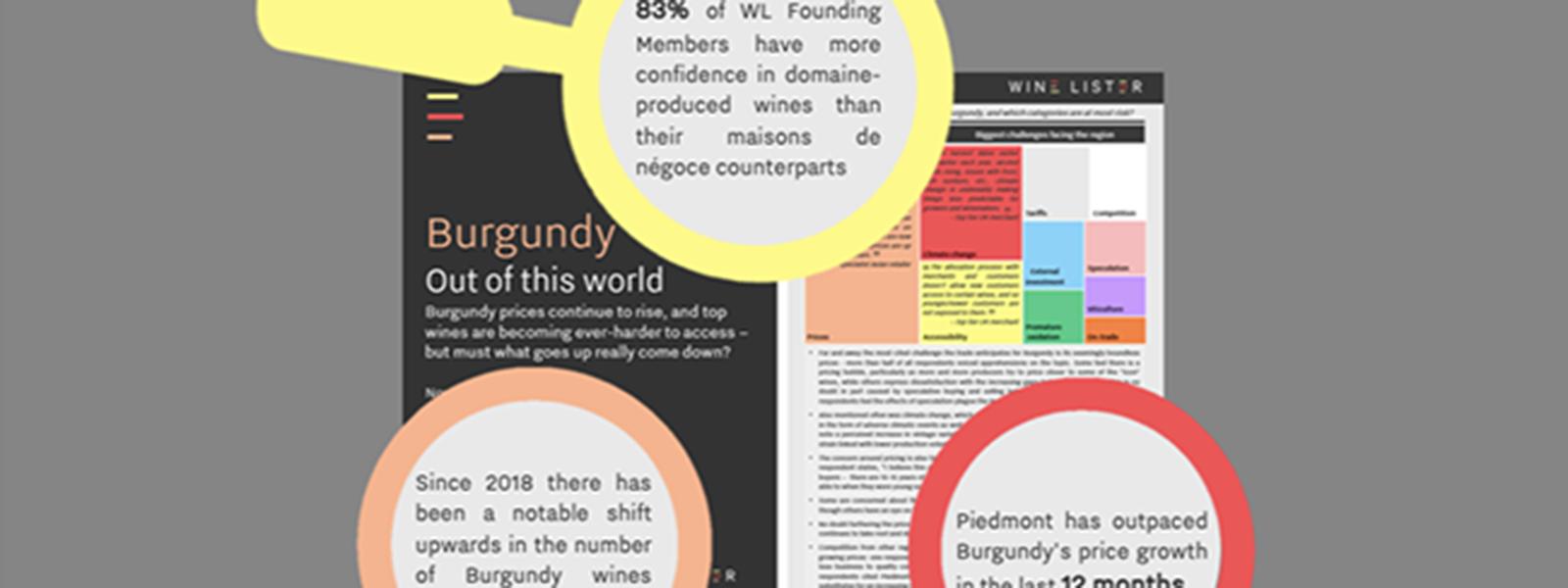 Wine Lister's 2020 Burgundy Study