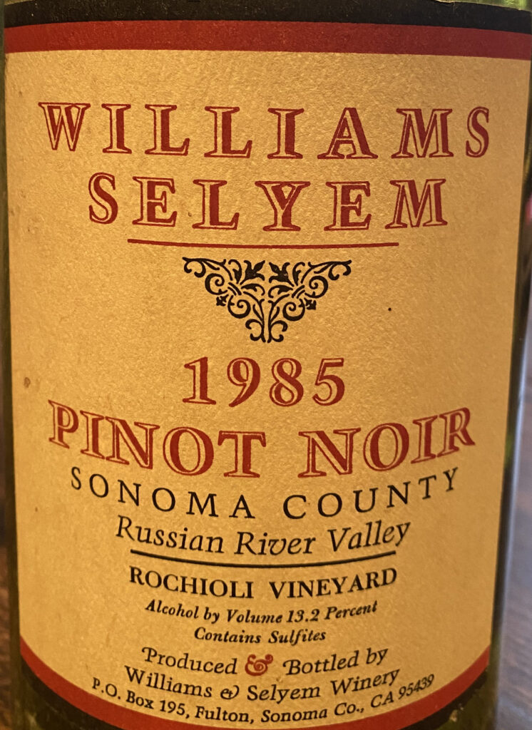 Williams Selyem Vertical
