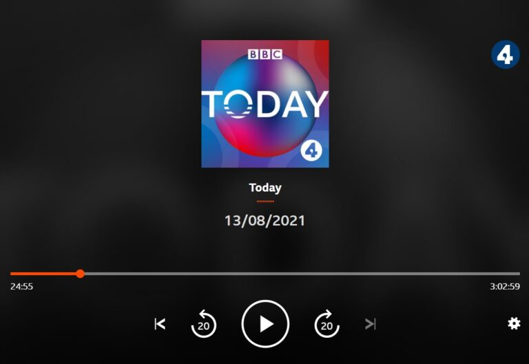 Jasper on BBC Radio: The 2021 Harvest