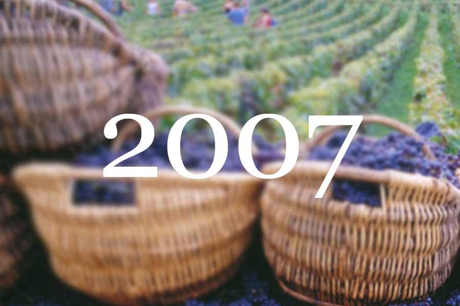 2007 Vintage Overview