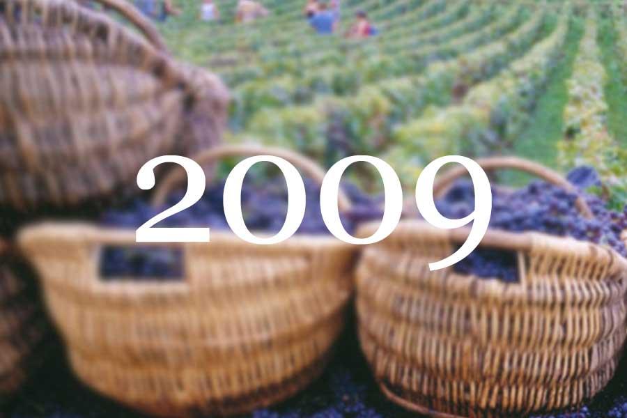 2009 Vintage Overview